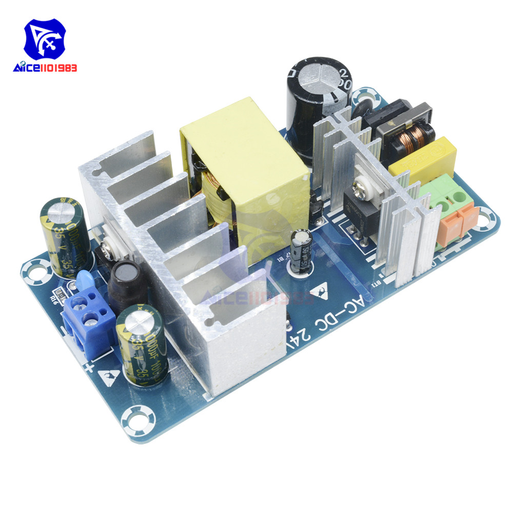 AC 85-265V To DC 24V 4A-6A 100W Switching Power Supply Board Power Supply Module Overvoltage Overcurrent Circuit Protection