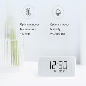 Image 2 - XIAOMI MIJIA Thermometer Pro electronic room thermometer Smart Bluetooth Hygrometer Digital clock  Humidity Sensor Mihome APP