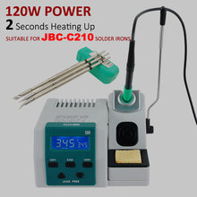 SUGON T26 Soldering Station Lead-free 2S Rapid Heating Soldering Iron Kit JBC C210 210 handle universal 80W Power Heating System