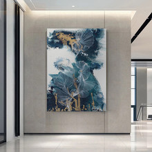 Pintura moderna da lona da pétala da alta definição, quadros e cartazes da arte da paisagem, decoração da sala de visitas em casa