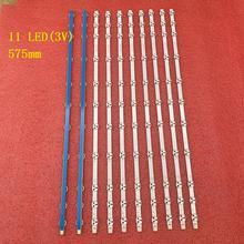 10 Teile/los 11LED LED streifen für 17DLB32NER1 32 NDV LG Sharp 32D1334DB LC32LD145K VES315WNDL 01 VES315WNDS 2D R02 32HA5000 VESTEL