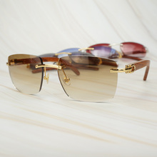 Trendy Oversized Square Sunglasses for Men