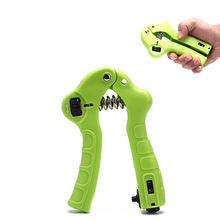 Count Hand Grip Strength Wrist Expanders Home Finger Wrist Heavy Adjust Gripper