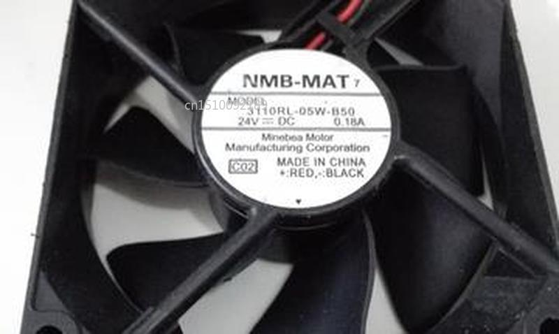 For Original Genuine 3110RL-05W-B50 DC24V 0.18A 8CM 8025 Variable Frequency Cooling Fan Free Shipping