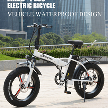 Bike-Battery Snow-Bicycle Beach-Ebike Folding Sheng Milo Electrict 500w 48v Portable