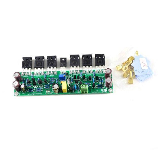 1 قطعة L15 FET 150 واط 300 واط 600 واط أحادية تجميعها مكبر كهربائي مجلس ث/IRFP240 IRFP9240 بواسطة LJM