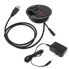 Ab abd dağı masa USB 3.0 tip C Hub TF/USB kart okuyucu adaptörü dizüstü PC için damla nakliye