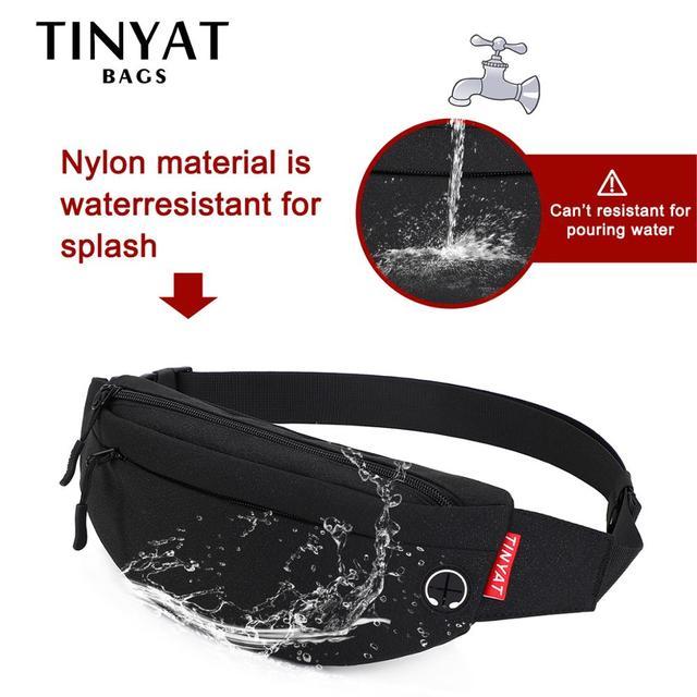 Waist Bag Pack Purse Casual Large Phone Belt 6