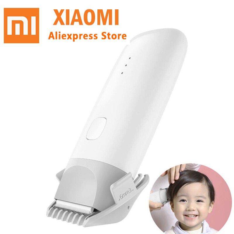 Xiaomi mijia MiTu Baby Hair Clipper IPX7 Waterproof Electric Hair Razor Silent Motor For Children Baby USB Rechargeable Safe
