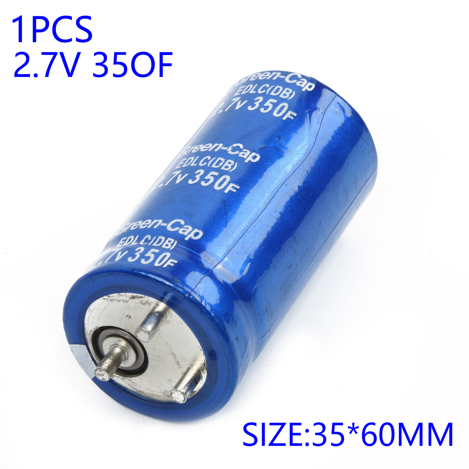 Component Capacitor 2.7V Replacement Blue 35x60mm Farad For Maxwell Accessories Electrical Durable And Practical To Use