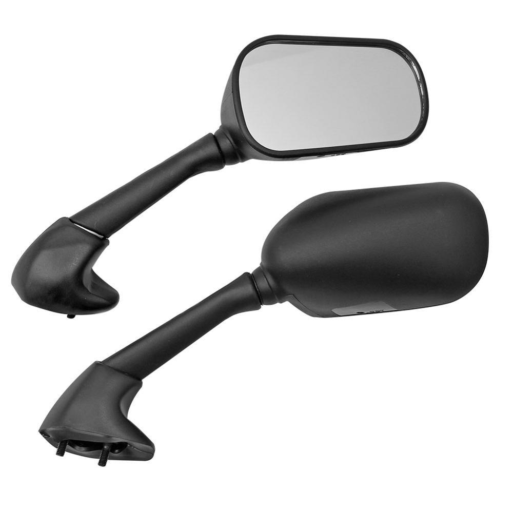 Черное зеркало заднего вида Cherk для мотоцикла и скутера, 1 пара, зеркала заднего вида для Yamaha YZF R6S 2006 R6S 2007 2008 2009