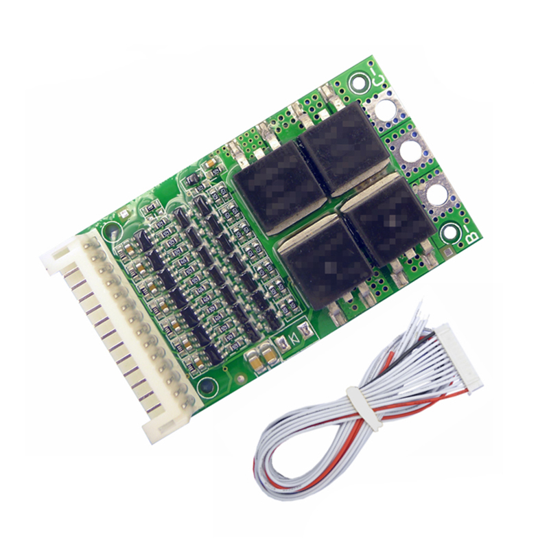 6S <font><b>7S</b></font> 8S 9S 10S 11S 12S 13S <font><b>BMS</b></font> 35A 50A 80A 150A Charging Module Li-ion <font><b>18650</b></font> Battery Pack Protection Balancer Equalizer Board image
