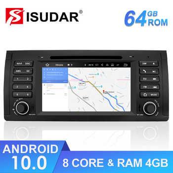 Isudar 1 Din Auto Radio Android 10 For BMW X5/E53 E39 Car Multimedia Player Autoradio GPS Octa Core DSP Camera DVR DVD FM Player - DISCOUNT ITEM  28 OFF Automobiles & Motorcycles