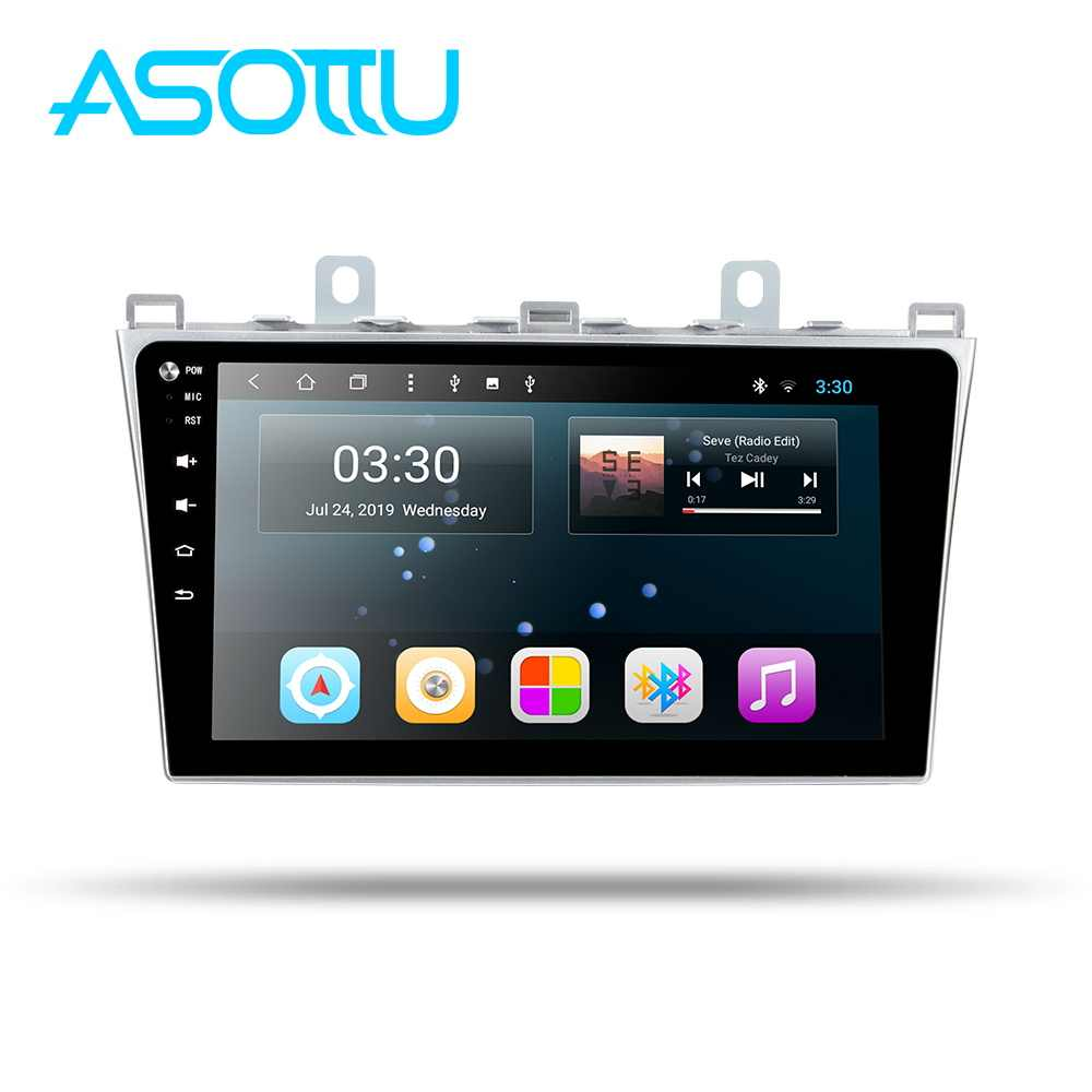 Asottu android 9.0 auto dvd voor Mazda 6 2008 2009 2010 2011 2012 2013 2014 Radio Audio GPS Multimedia Speler