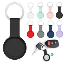 for Apple Airtags Case Shock-proof Protective Cover Shell Case Keyring Locator Tracker Device llavero Dog Anti-lost Keychain
