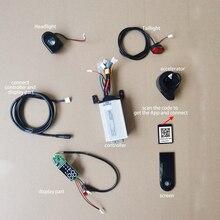 Контроллер скутера FOSTON X-Play, материнская плата DIGMA с Bluetooth 350 Вт 36 В, светодиодный дисплей с приложением Hover Board Controller
