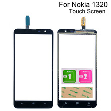 Mobile Touch Screen For Nokia Lumia 1320 N1320 Touch Screen Digitizer Front Glass Lens Panel Sensor Repair Tools 3M Glue 6 1 touch screen for ulefone note 7 s11 touch panel touch screen digitizer sensor repair touch glass lens tools 3m glue