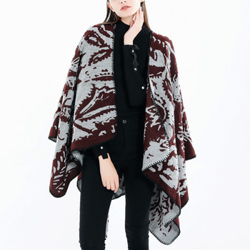 Women 2019 Autumn Winter Scarf for Lady Fashion Women Camouflage Pattern Coat Wrap Cozy Shawl Coat 19Sep07 P30 image