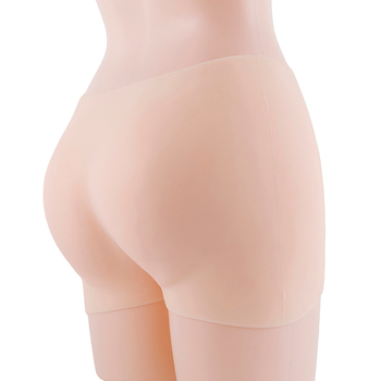 1500g Silicone butt pants Thicken hips by 2 cm Full Silicone Buttocks Hips Ass Enhancer Shaper Pants Body Shaped Underwear