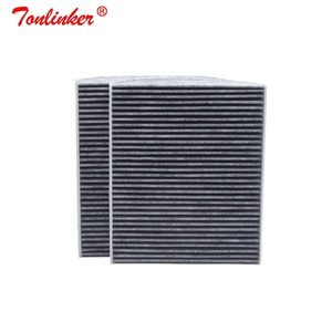 Image 2 - Cabin Filter Oem 64119163329 For Bmw 5 F07 F10 F11 2009 2019 518d 520d 520i 523i 525i 528i 530d 535d 550i M5 2Pcs Carbon Filter