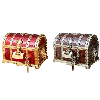 Vintage Box Treasure Chest Jewelry Box