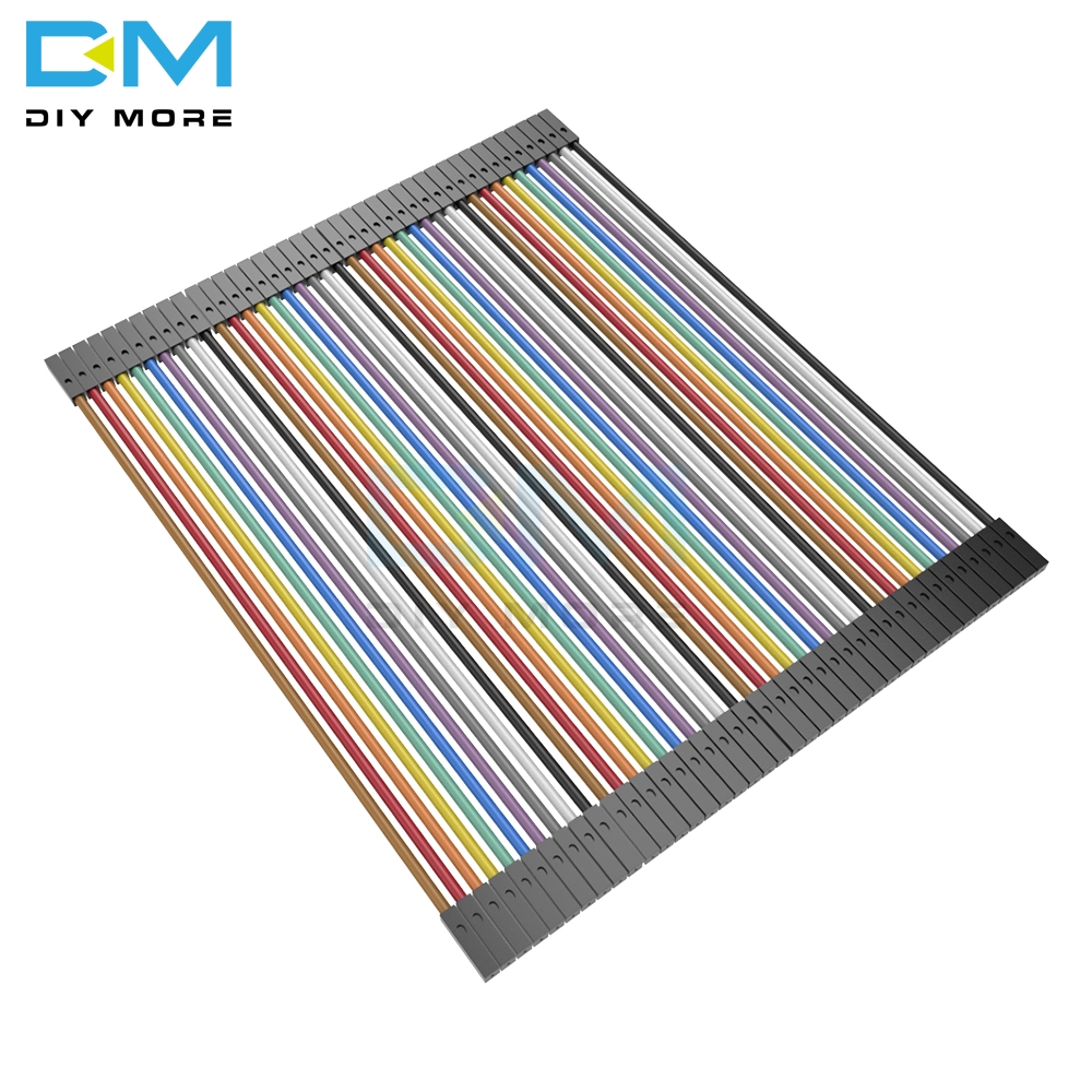 2 X 40pin 80PCS dupont kabel jumper draht Band dupont linie buchse auf buchse dupont linie 10cm 1P durchmesser: 2,54mm Für Arduino