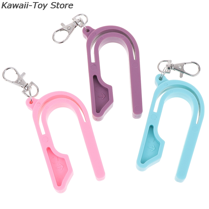 1PC NEW Plastic The Car Seat Key Easy Car Seat Unbuckle Child Safety Belt Keychain Tool Unlock Automobiles Interior Accessories