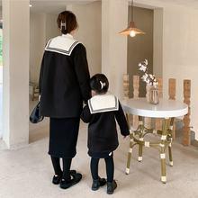 Одежда для родителей и детей новинка зимы 2020 стеганое шерстяное