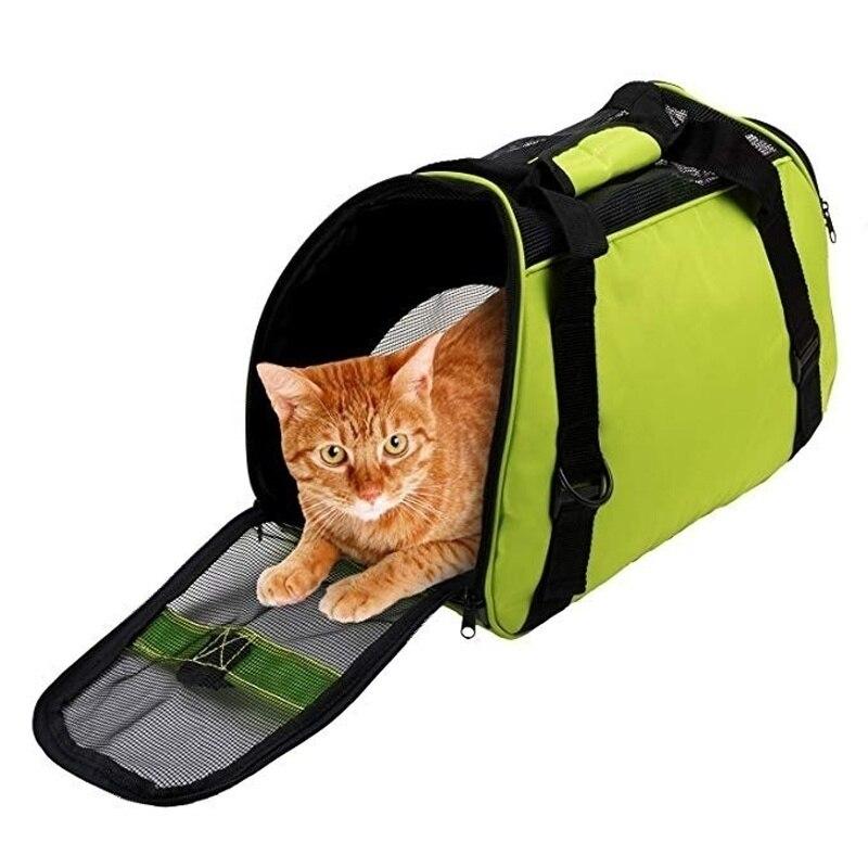 Pet Bag Breathable Outdoor Cat Cage Puppy Carrying Shoulder Bags Protable Pet Carrier Shoulder Bag Pet