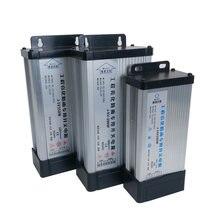 Трансформатор 220 В в 5 12 24 водонепроницаемый источник питания