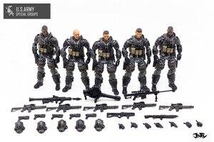 Image 5 - شخصيات الحركة الجديدة من JOYTOY موديل 1/18 لنموذج فيلق الجيش الأمريكي هدية عيد الميلاد/الإجازات شحن مجاني