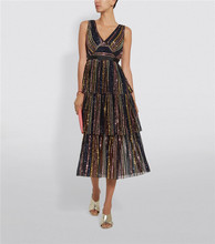 Autumn sequined color deep