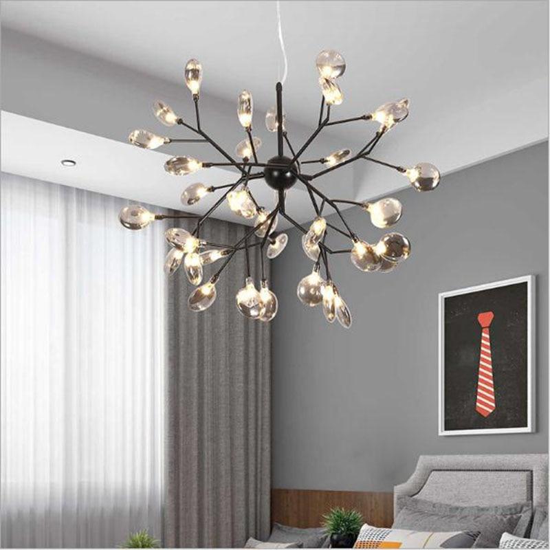 Nordic Led Ceiling Lights Modern Restaurant Hanging Lighting For Living Dining Room Bedroom Loft Coffee Industrial Ceiling Lamp