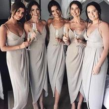 2019 Sexy Women Bridesmaid Dresses Wedding Party Dress Guest