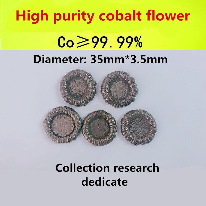 2 gram 99.99/% Cobalt metal pieces in glass vial element 27 sample