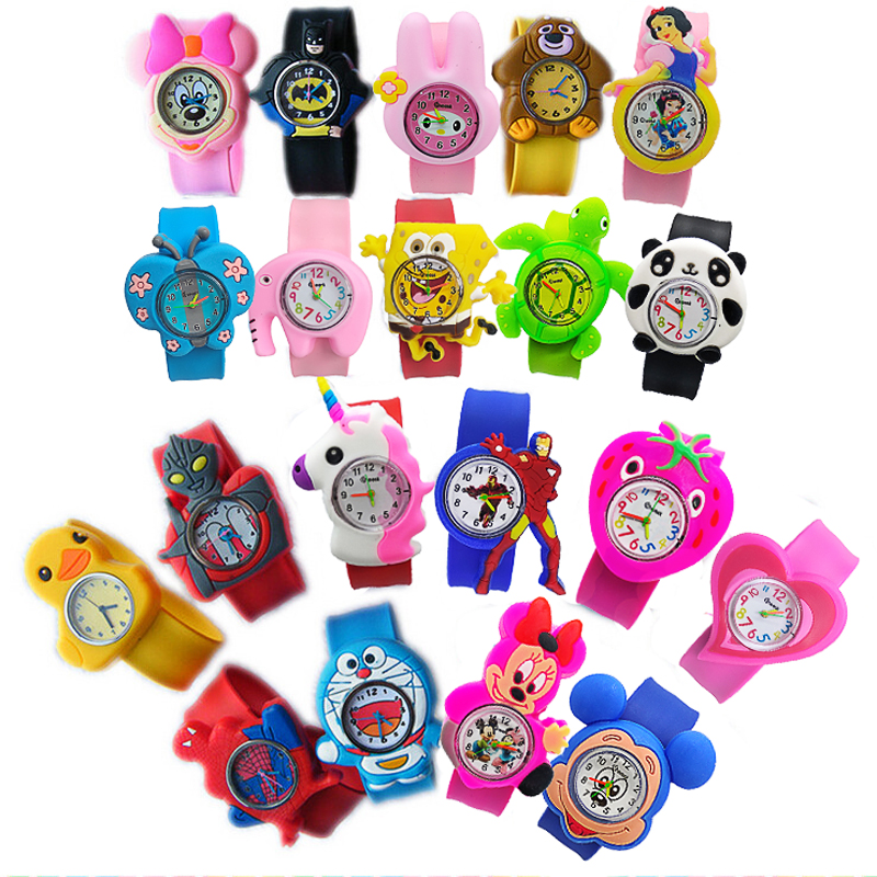 20 Patterns Baby Toys Gifts Children Watch Student Clock Kids Boys Watches Electronic Toddler Boy Girl 1-9 Years Old Child Watch