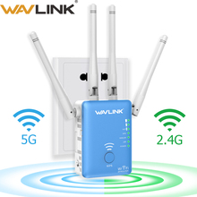 Wavlink Wireless Wifi Repeater/Router 1200mbps 2.4G&5G Dual Band Wifi Signal Amplifier AP Signal Booster Network Range Extender 802 11 ac 1200mbps high power enterprise gigabat wireless router through wall 2 4g 5g dual band wireless ap gateway repeater
