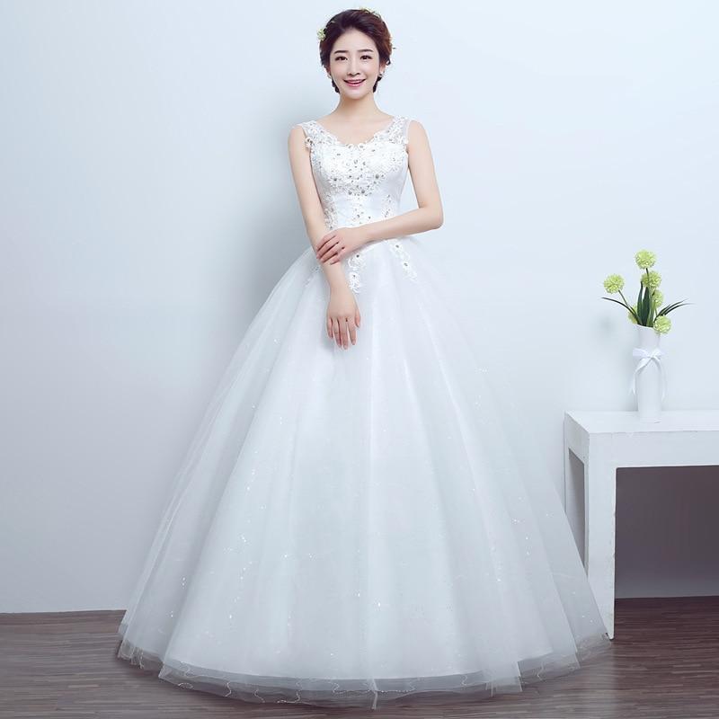 2019 Sale Vestidos De Festa Curto 2020 New Summer And Autumn Korean Bridal Wedding Dress One Shoulder Princess Large Slim 011