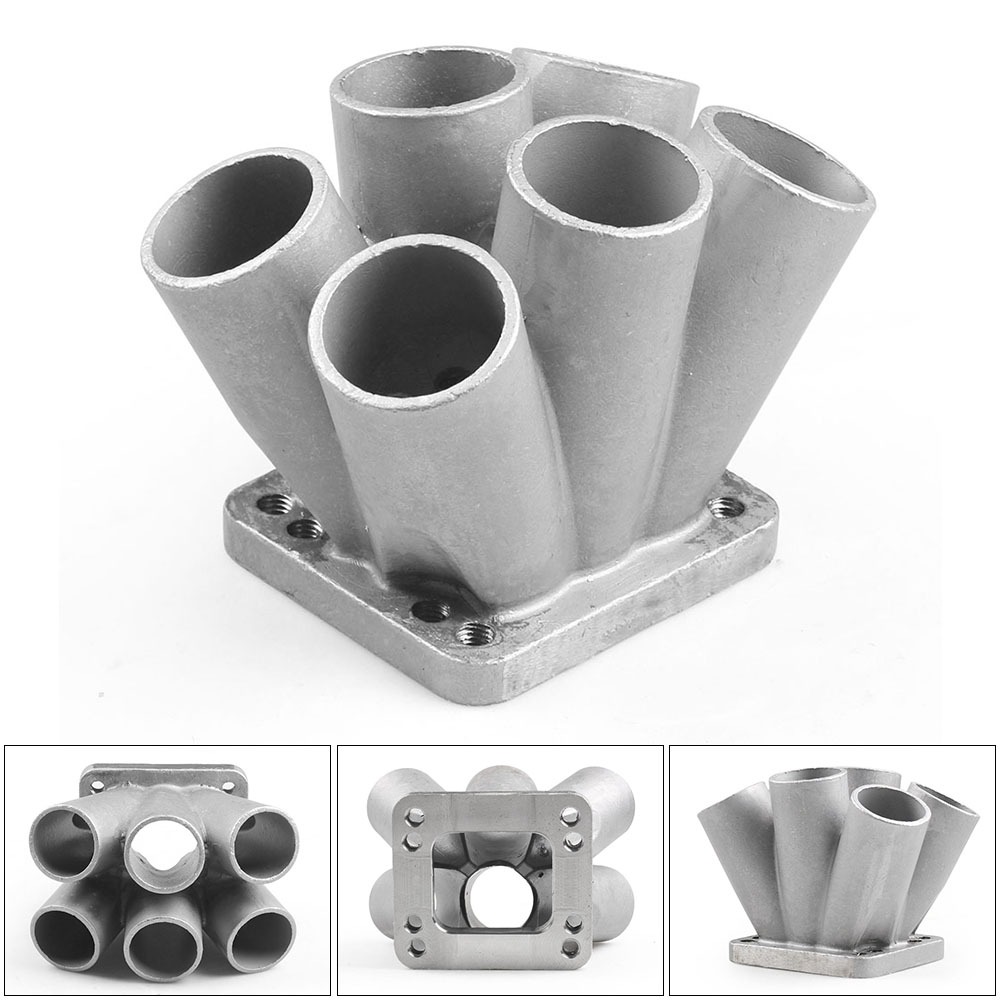 3 into 1 with 2x Flanges 2x JST Turbo Manifold Merge Collector T25//T3//T4