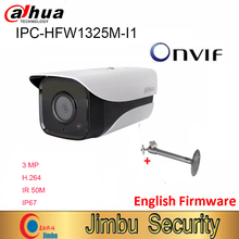 Kamera IP Dahua 3MP IPC HFW1325M I1 H.264 IP67 ONVIF IR 50M kamera kopułkowa 3DNR dzień/noc