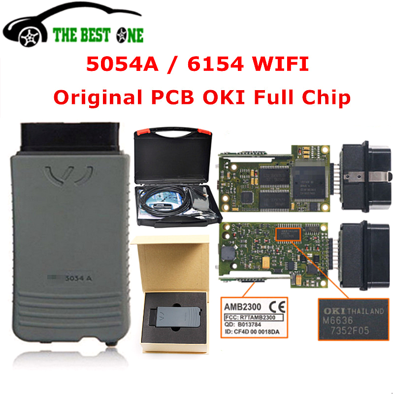 Car-Diagnostic-Tool Support WIFI Full-Chip 5054A 6154 Bluetooth Original Oki AMB2300