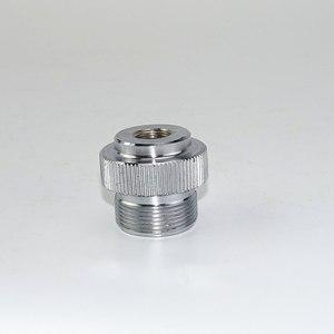 "Image 5 - מתאם CGA600 כדי 7/16 "" 28UNF עבור Braze ריתוך לפיד MAPP פרופאן גז לפיד חימום הלחמה צורב מתאם Catridge"