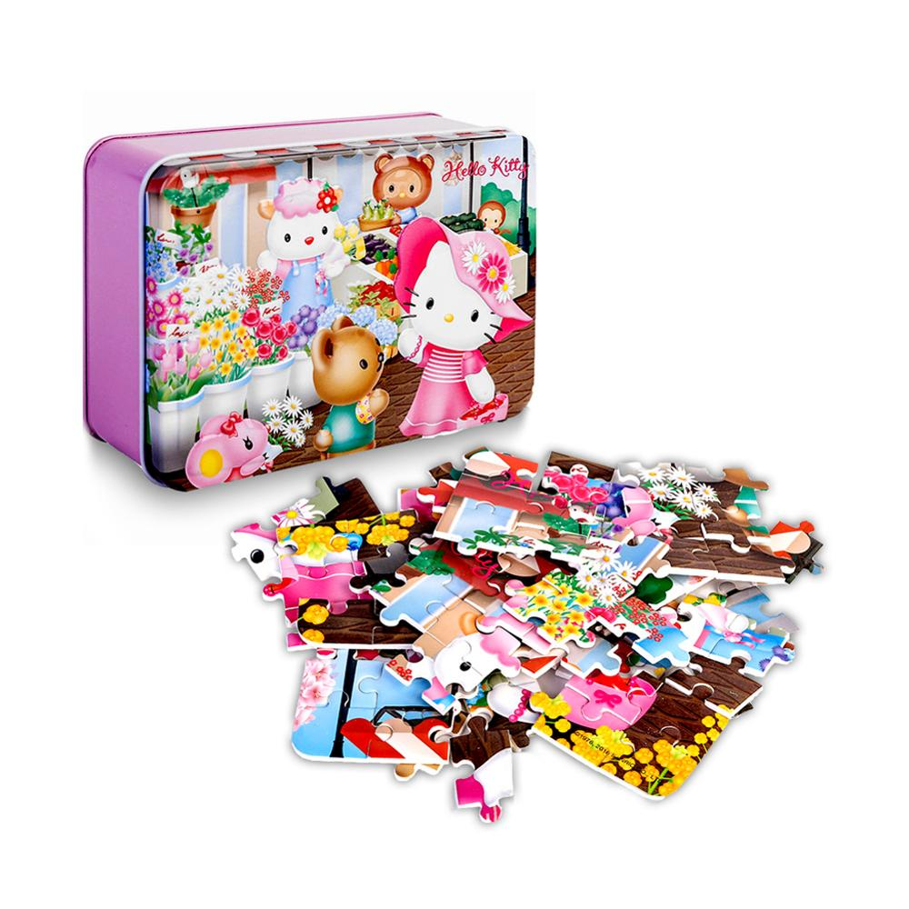 Hello Kitty 100 Piece Jigsaw Puzzle For Kids 4-8 For Children Learning Educational Puzzles Toys
