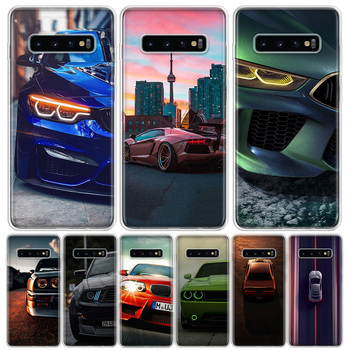 Blue white black For BMW Phone Case For Samsung Galaxy S20 Ultra Plus S6 S7 S8 S9 S10 NOTE8 NOTE9 NOTE10 J4 J6 Plus Edge Lite Ho image