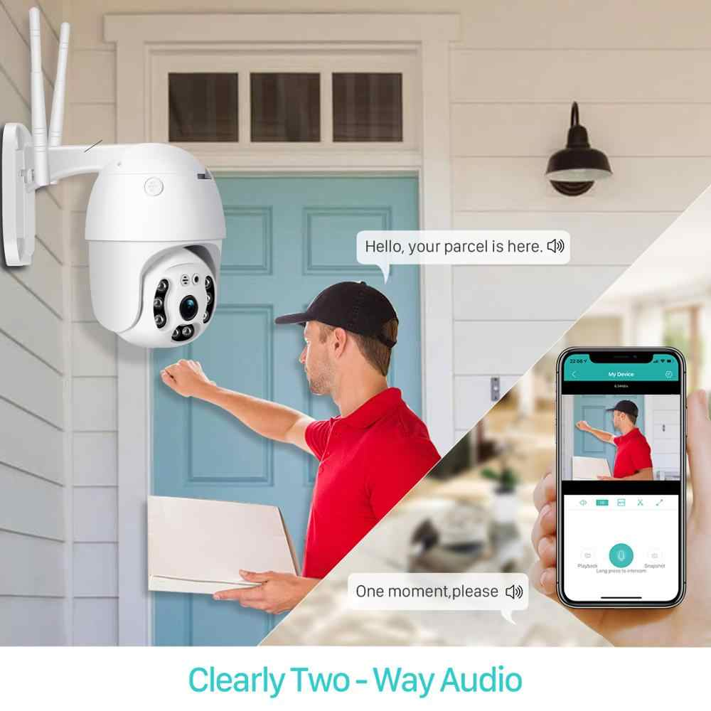 BESDER 1080p Wifi PTZ humanoidalne wykrywanie lP aparat cyfrowy Zoom dwukierunkowy Audio zewnętrzna kamera bezpieczeństwa nadzór IPcam CCTV ICSee
