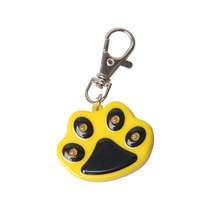 Footprint LED Dog Tag Safety Puppy Cat Collar Pendent Glow In The Dark Anti-lost Pet Ornaments Accessories Supplies