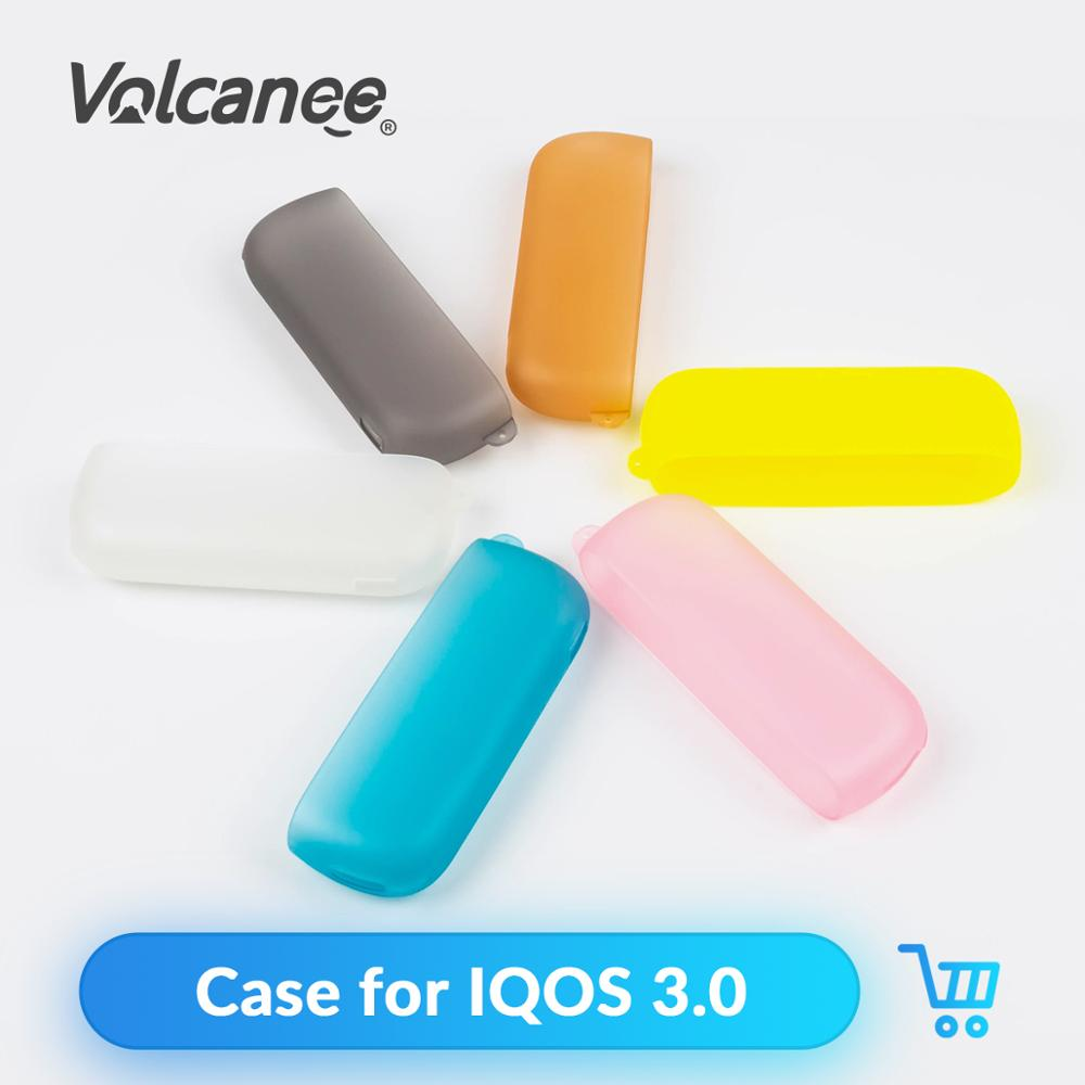 Volcanee 1PC TPU Case for <font><b>IQOS</b></font> <font><b>3</b></font>.0 Protective Cover Carrying Case for <font><b>IQOS</b></font> <font><b>3</b></font> Electronic Cigarette Accessories image