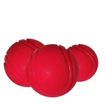 Тренировочная жевательная игрушка для домашних животных, Нетоксичная твердая натуральная резина, мяч для прыжков для собак и кошек, маленький размер