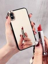 Coque de téléphone miroir pour femmes, étui pour iPhone 12 Mini 11 Pro MAX XR XS MAX X 8 7 6 6S Plus SE 2020