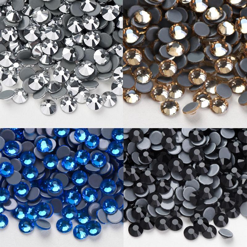 AAAA Hot Fix FlatBack Strass Stoff Garment Strass/SS4-SS30 Hohe Qualität Hot Fix Strass Glas Kristall DIY Kleidung